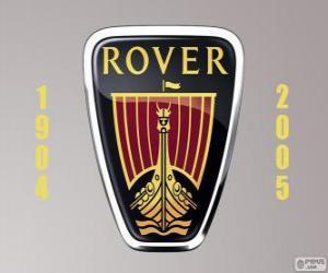 Puzle Logo da Rover foi um fabricante de automóveis do Reino Unido
