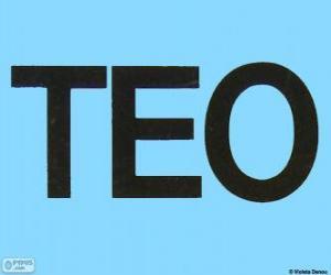 Puzle Logo da Teo