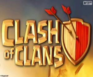 Puzle Logo de Clash of Clans