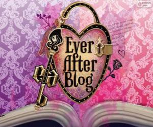 Puzle Logo de Ever After High