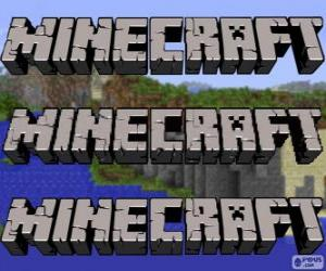 Puzle Logo de Minecraft