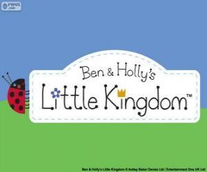 Puzle Logo de O Pequeno Reino de Ben e Holly