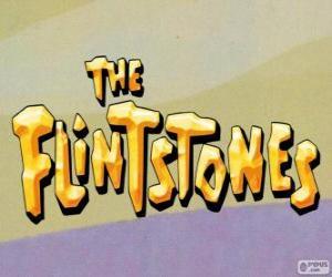 Puzle Logo de Os Flintstones