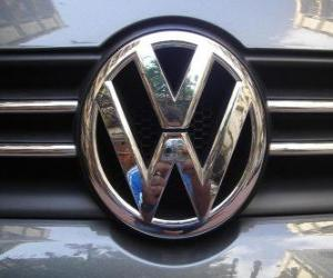 Puzle Logo de Volkswagen, marca automóvel alemã
