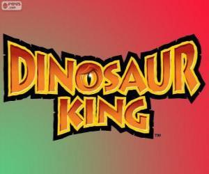 Puzle Logo Dinosaur King