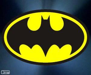Puzle Logo do Batman, o morcego