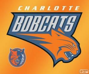 Puzle Logo do Charlotte Bobcats, equipe da NBA. Divisão Sudeste,ConferênciaLeste