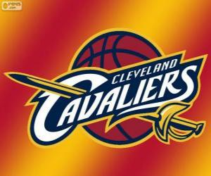 Puzle Logo do Cleveland Cavaliers, equipe da NBA. Divisão Central,ConferênciaLeste