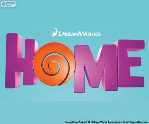 Puzle Logo do filme Home