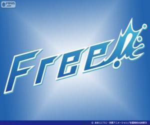 Puzle Logo Free! - Iwatobi Swim Club