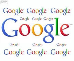 Puzle Logo Google