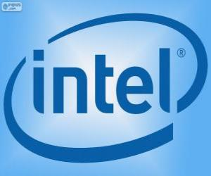 Puzle Logo Intel