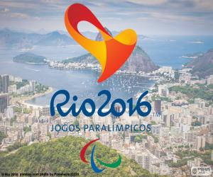 Puzle Logo Jogos Paraolímpicos Rio 2016
