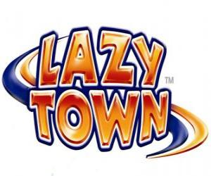 Puzle Logo Lazy Town