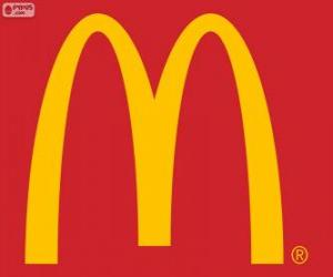 Puzle Logo McDonald's