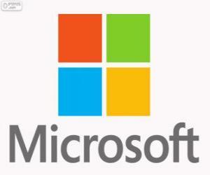 Puzle Logo Microsoft