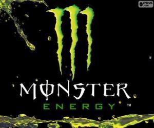Puzle Logo Monster Energy