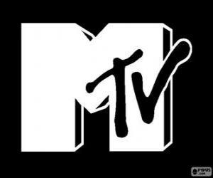 Puzle Logo MTV