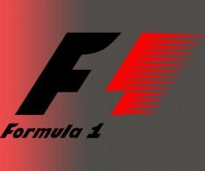 Puzle Logo oficial da Fórmula 1