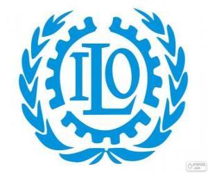 Puzle Logo OIT, Organização Internacional do Trabalho