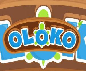 Puzle Logo Oloko on-line jogo de estratégia