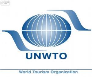 Puzle Logo OMT, Organização Mundial do Turismo
