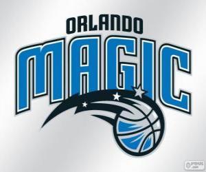 Puzle Logo Orlando Magic equipe da NBA. Divisão Sudeste,ConferênciaLeste