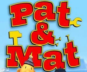 Puzle Logo Pat e Mat
