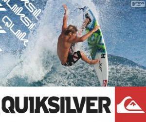 Puzle Logo Quiksilver