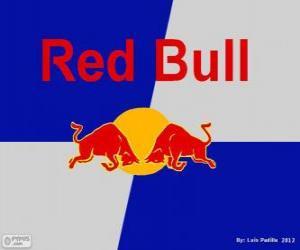 Puzle Logo Red Bull