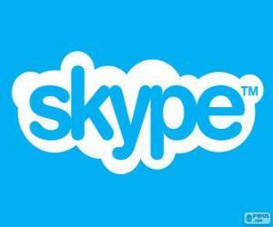 Puzle Logo Skype
