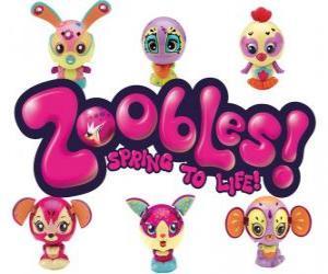 Puzle Logo Zoobles