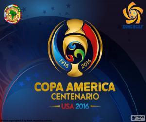 Puzle Logotipo Copa América Centenario