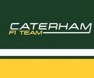 Puzle Logotipo da Caterham F1 Team