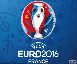 Puzle Logotipo da Euro 2016