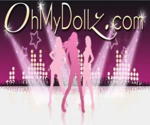 Puzle Logotipo da Oh My Dollz