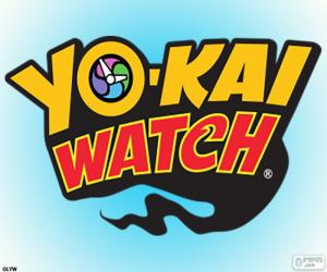 Puzle Logotipo da Yo-kai Watch