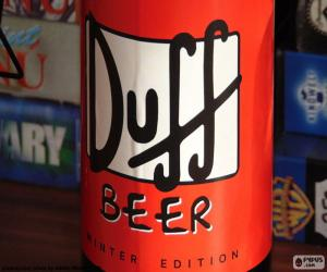 Puzle Logotipo de cerveja Duff