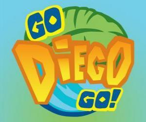 Puzle Logotipo de Go, Diego, Go!
