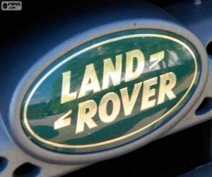 Puzle Logotipo de Land Rover