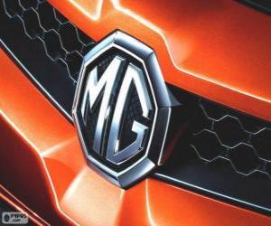 Puzle Logotipo de MG, marca do Reino Unido