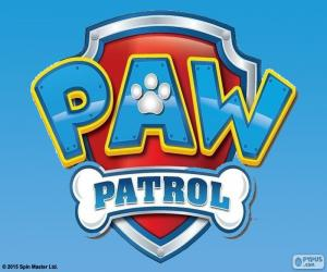 Puzle Logotipo de Paw Patrol