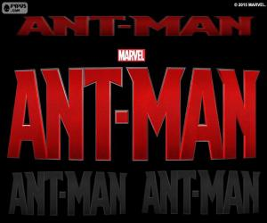 Puzle Logotipo do Ant-Man