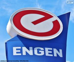 Puzle Logotipo do Engen Petroleum