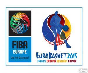 Puzle Logotipo do EuroBasket 2015