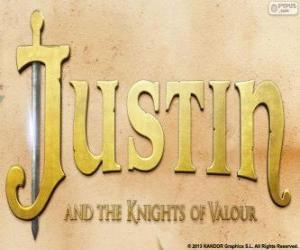 Puzle Logotipo do filme Justin e a Espada da Coragem
