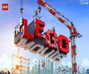 Puzle Logotipo do filme Lego