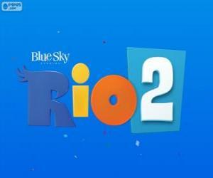 Puzle Logotipo do filme Rio 2