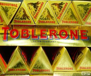 Puzle Logotipo Toblerone