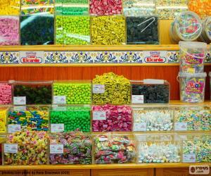 Puzle Loja de doces